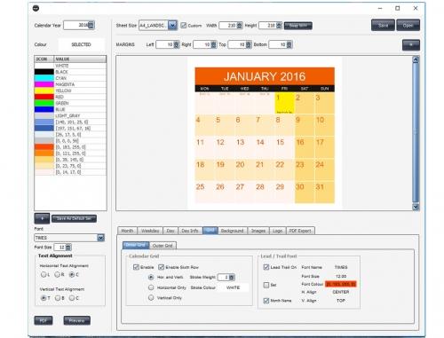 Pyxis Calendar - PC Version
