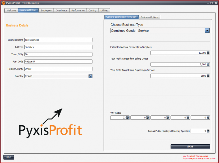 Pyxis Profit - Business View